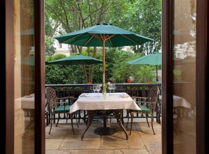 New summer BBQ package launched in 116 Pall Mall's secret garden from £88pp