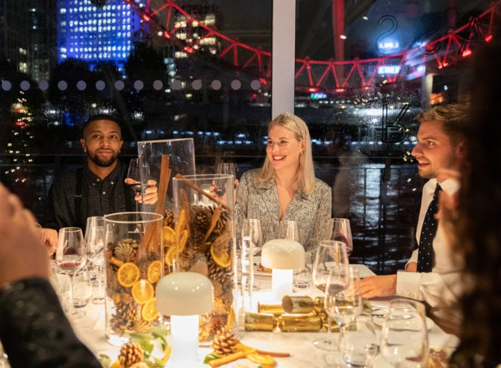Festive party packages from £69pp with Bateaux London