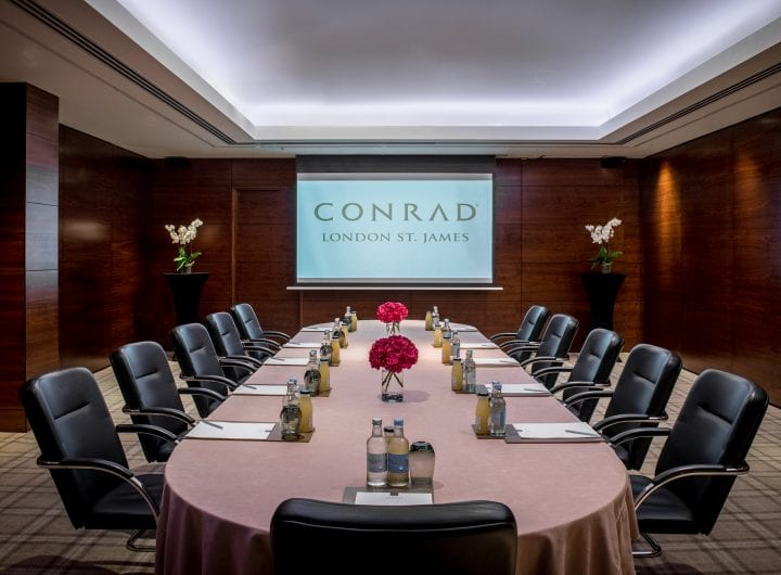 DDRs from just £79pp this summer at Conrad London St James