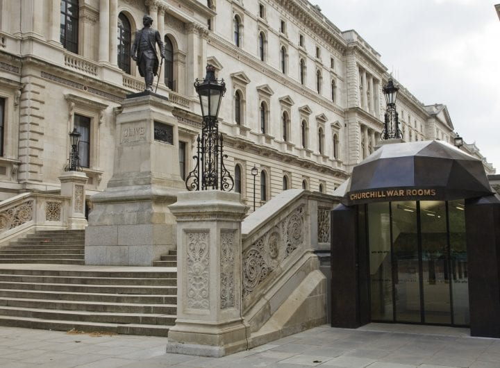 Lead your business to victory at Churchill War Rooms from £55pp
