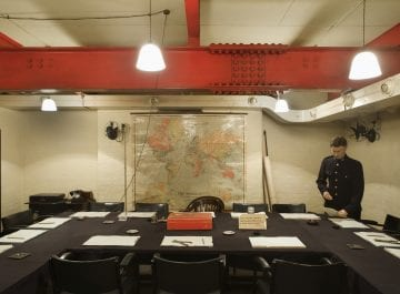 Christmas parties steeped in history from £98pp at Churchill War Rooms