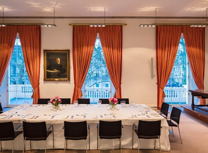 Book ahead and get DDRs from £69pp at the Royal Society