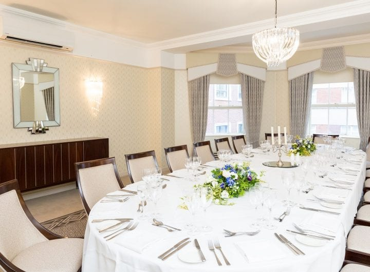 10% off private dining at the Lansdowne club