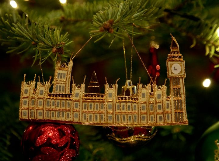 10% off Christmas venue hire at the House of Commons