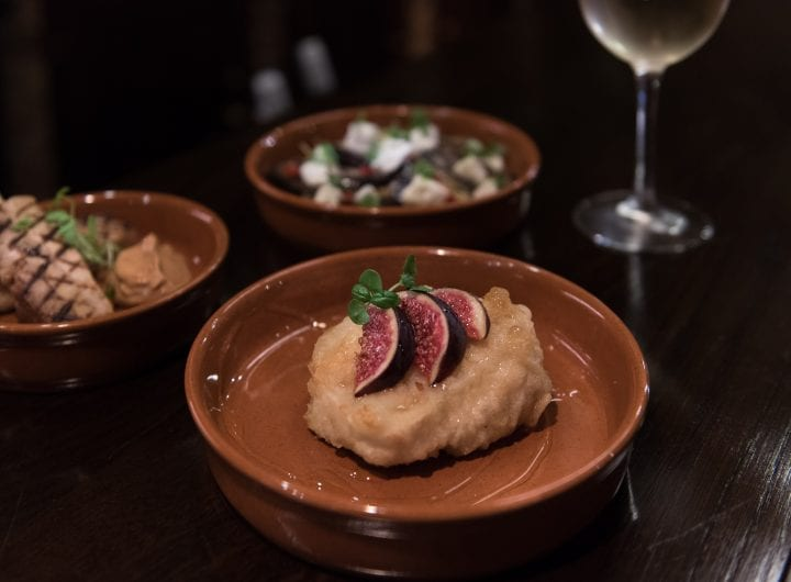FREE tapas and wine when booking an event at 116 Pall Mall