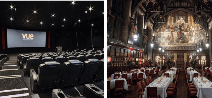 Vue West End and Lincoln's Inn join Westminster Venue Collection
