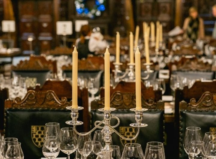 Lincoln's Inn offers new Dickensian Christmas lunches in the Old Hall from £90pp