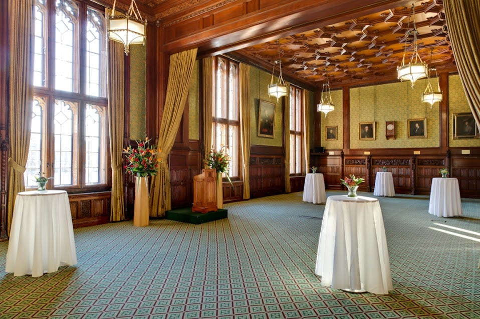 House of commons members dining room westminster venue for Dining room c house of commons