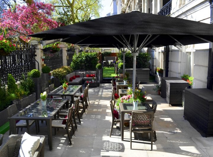 Terrace BBQ Package at One Whitehall Place at The Royal Horseguards Hotel
