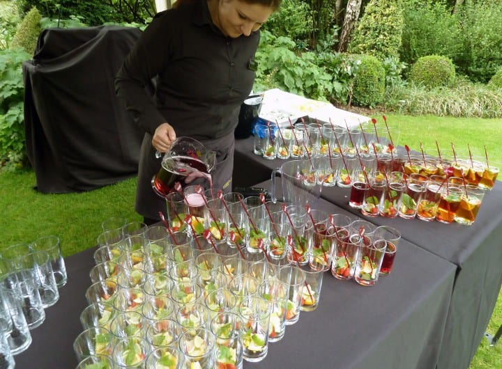 Free Pimms at Regent's Conferences & Events