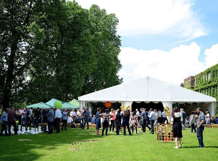 20% off summer parties at Regent's Conferences and Events