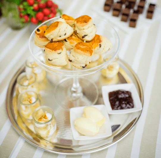 Treat your delegates to a unique cream tea at The Royal Society