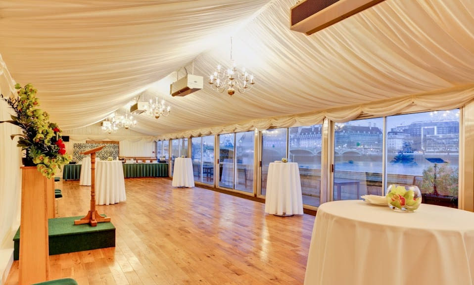 House Of Commons Terrace Pavillion Open For Summer Bookings