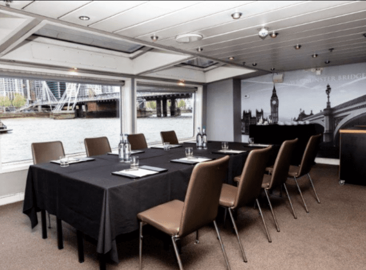 Bateaux London offering entire vessel hire for meetings and conferences from £85pp