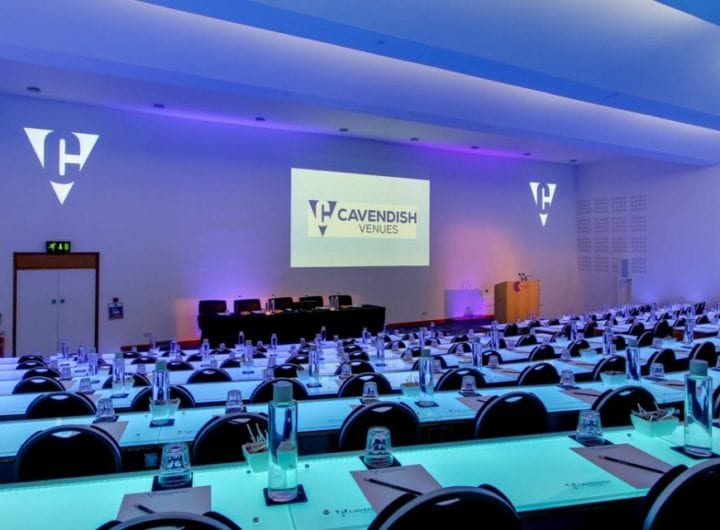Cavendish Venues offers free AV package for evening and weekend events