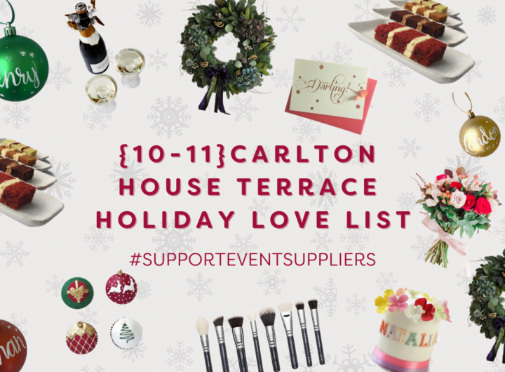 10-11 Carlton House Terrace launches #SupportEventSuppliers campaign for Christmas
